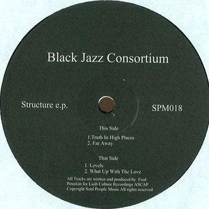 black jazz consortium альбом Structure E.P.