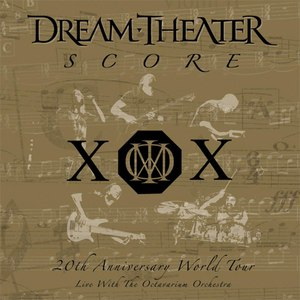 Dream Theater альбом Score: 20th Anniversary World Tour