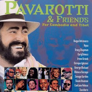 Luciano Pavarotti альбом Pavarotti & Friends for Cambodia and Tibet