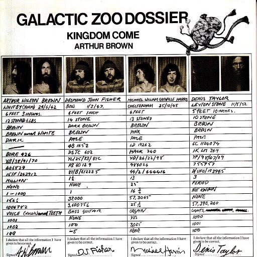 Kingdom Come альбом Galactic Zoo Dossier