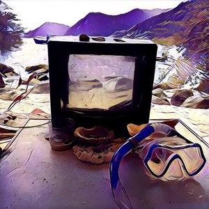 Телевизор альбом Ихтиозавр