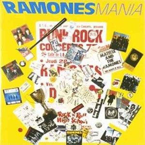 Ramones альбом Mania