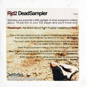 RJD2 альбом DeadSampler