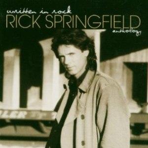 Rick Springfield альбом Written In Rock: Rick Springfield Anthology