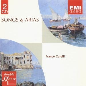 Franco Corelli альбом Neapolitan Songs, Sacred Songs & Arias