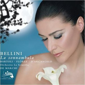 Cecilia Bartoli альбом Bellini: La Sonnambula