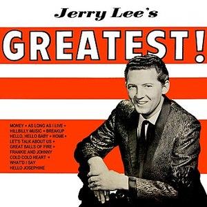 Jerry Lee Lewis альбом Jerry Lee's Greatest