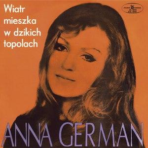 Anna German альбом Wiatr mieszka w dzikich topolach