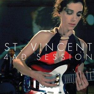St. Vincent альбом 4AD Session - EP