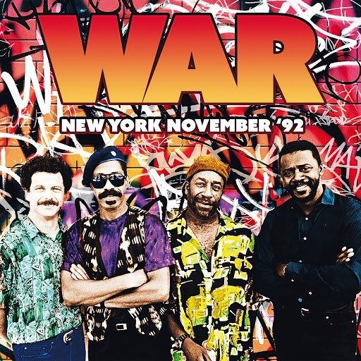 War альбом New York - Wetlands Preserve Club, 13 Nov '92 (Live)