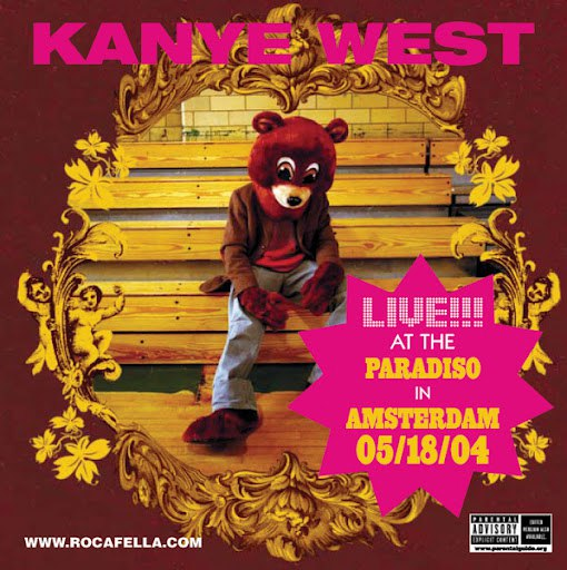 Kanye West album We Don't Care (Live Version)