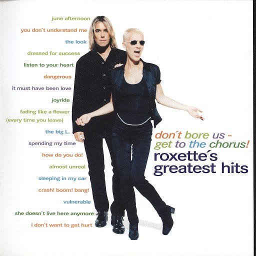 Roxette альбом Don't Bore Us - Get To The Chorus! Roxette's Greatest Hits