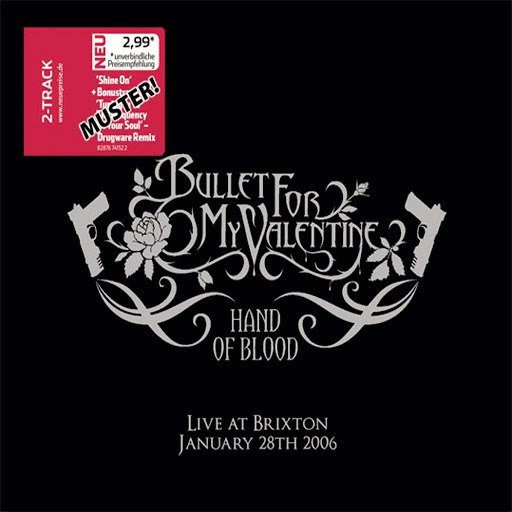 Bullet for My Valentine альбом Hand Of Blood - Live At Brixton