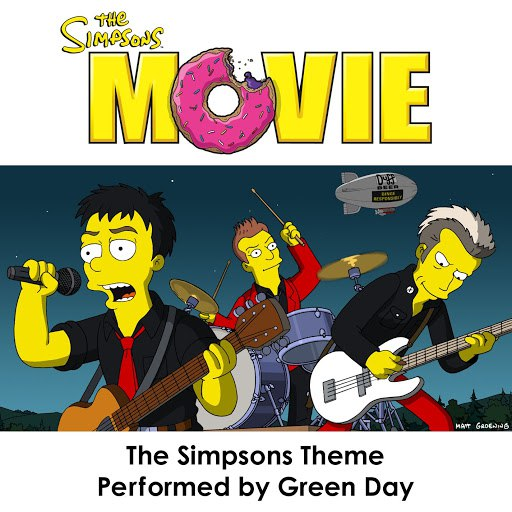Green Day альбом The Simpsons Theme