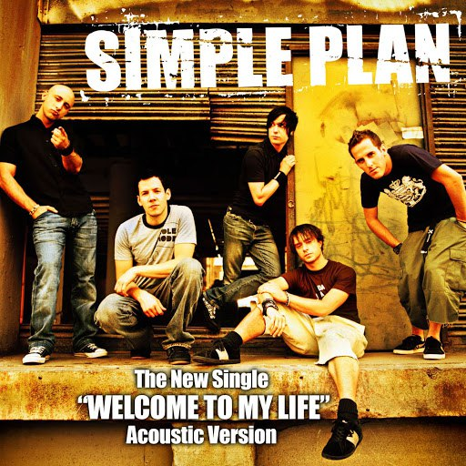Simple Plan альбом Welcome to My Life (Online Single - Acoustic Version)