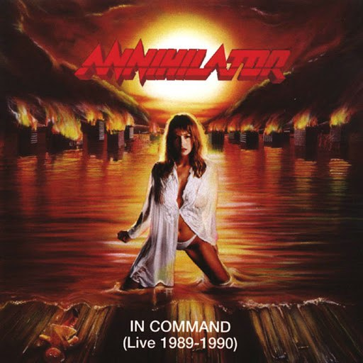 Annihilator альбом In Command (Live 1989-1990)