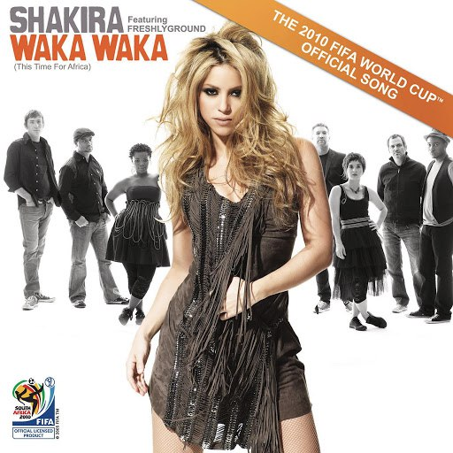Shakira альбом Waka Waka (This Time For Africa) (The Official 2010 FIFA World Cup Song)
