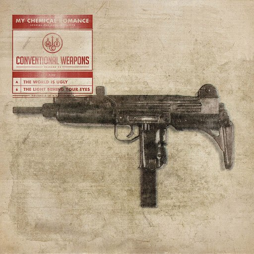 My Chemical Romance альбом Conventional Weapons: Release 03 (The World Is Ugly / The Light Behind Your Eyes)