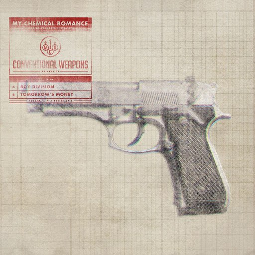 My Chemical Romance альбом Conventional Weapons: Release 01 (Boy Division / Tomorrow's Money)