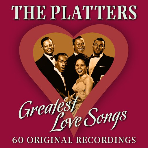 The Platters альбом Greatest Love Songs - 60 Original Recordings