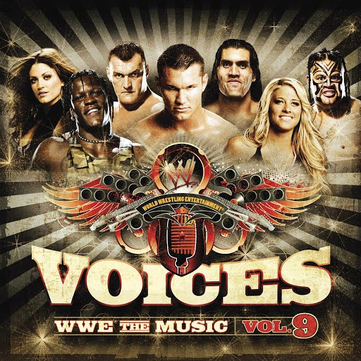 WWE альбом Voices: WWE the Music, Vol. 9