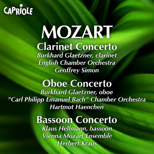 Wolfgang Amadeus Mozart альбом Mozart, W.A.: Clarinet Concerto / Oboe Concerto / Bassoon Concerto
