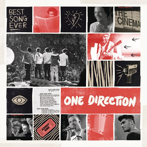 One Direction альбом Best Song Ever (WestFunk & Steve Smart Remix)