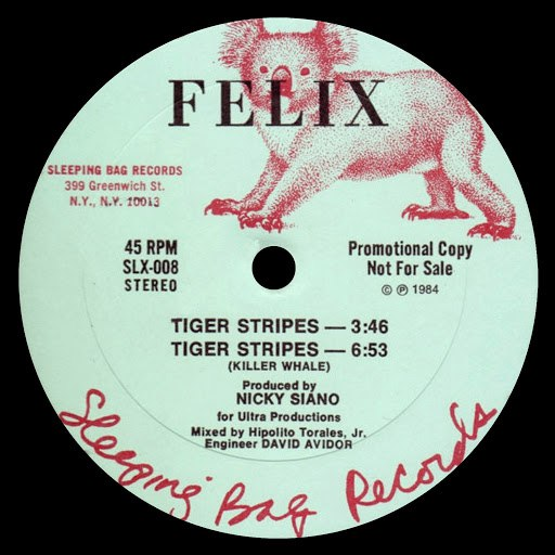 Felix альбом Tiger Stripes / You Can't Hold Me Down