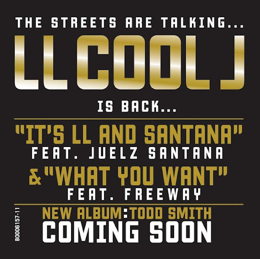LL Cool J альбом It's LL And Santana/What You Want