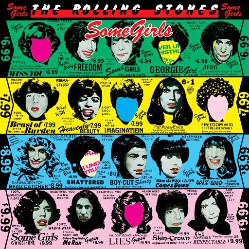 The Rolling Stones альбом Some Girls (2009 Re-Mastered)