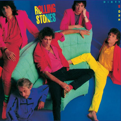 The Rolling Stones альбом Dirty Work (Remastered 2009)