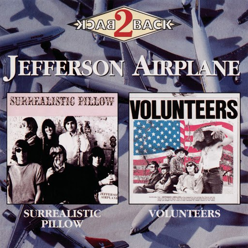 Jefferson Airplane альбом Surrealistic Pillow/After Bathing At Baxters/Crown Of Creation