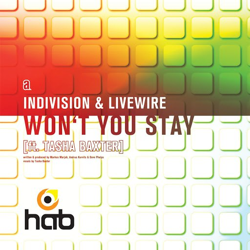 Indivision альбом Won't You Stay / Sunburst