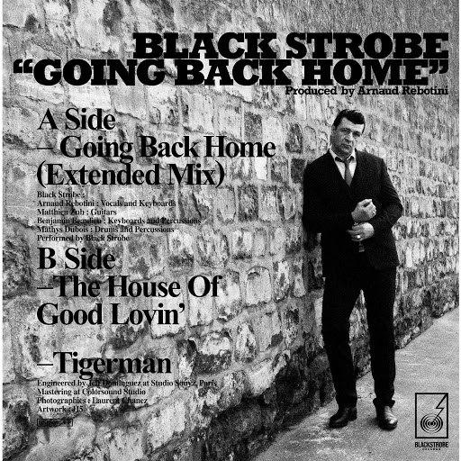 Black Strobe альбом Going Back Home