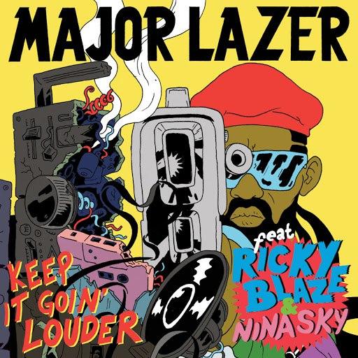 Major Lazer альбом Keep It Goin' Louder (Maxi Single)