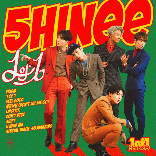 SHINee альбом 1 of 1 - The 5th Album
