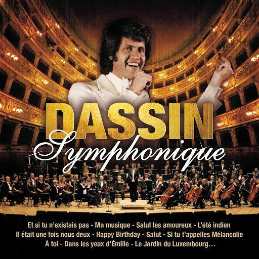 Joe Dassin альбом Joe Dassin Symphonique