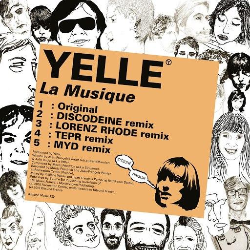 Yelle альбом Kitsuné: La Musique - EP