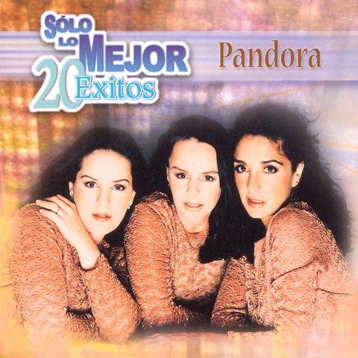 Pandora альбом Sólo lo Mejor - 20 Éxitos