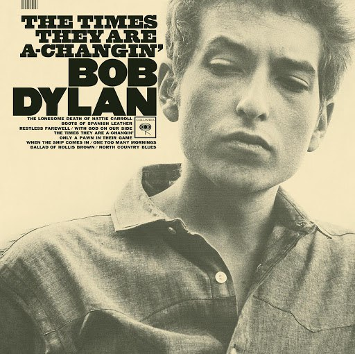 Bob Dylan альбом The Times They Are A-Changin'