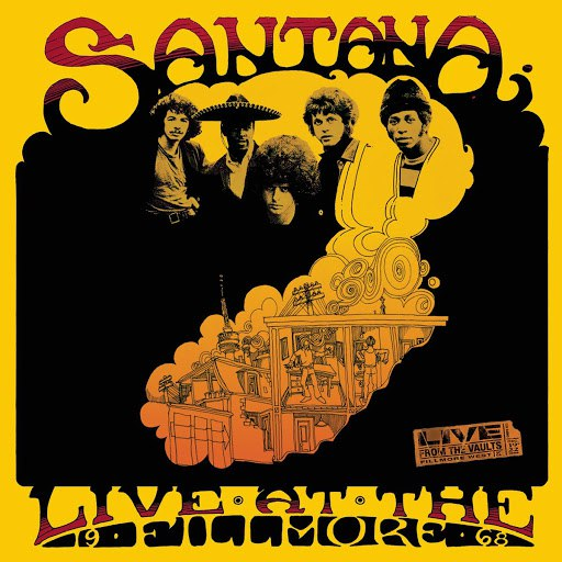 Santana альбом Live At The Fillmore (1968)