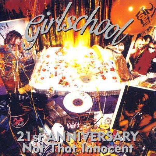 Girlschool альбом 21st Anniversary (Not That Innocent)