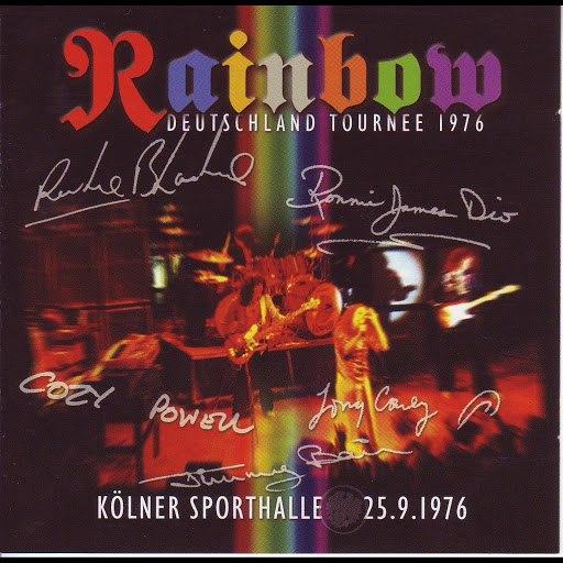 Rainbow альбом Live in Köln 1976