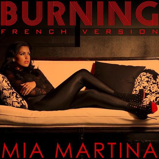 Mia Martina альбом Burning (French Version)