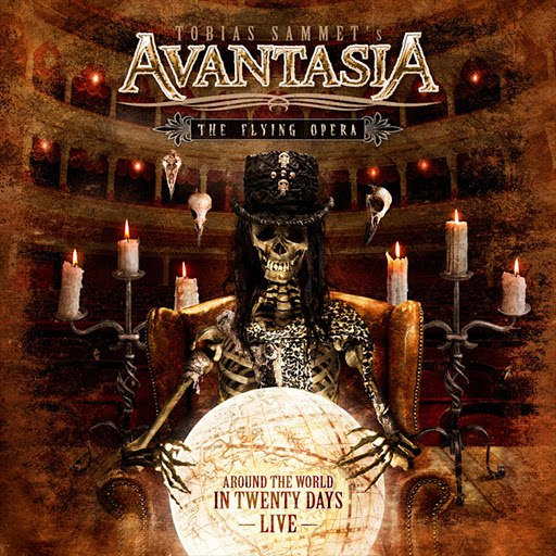 Avantasia альбом The Flying Opera - Around the World in 20 Days (Recorded @ Wacken & Masters of Rock)