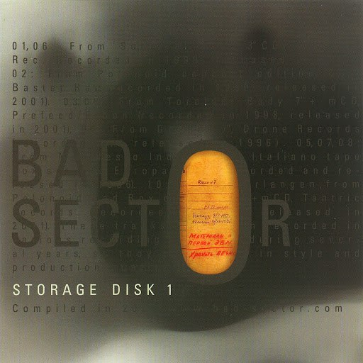 Bad Sector альбом Storage Disk 1