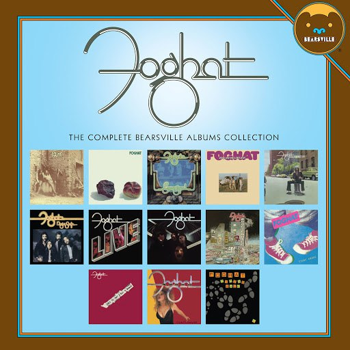 Foghat альбом The Complete Bearsville Album Collection