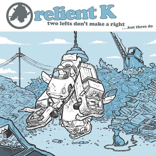 Relient K альбом Two Lefts Don't Make a Right...but Three Do (Gold Edition)
