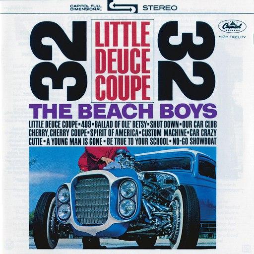 The Beach Boys альбом Little Deuce Coupe (2001 - Remaster)