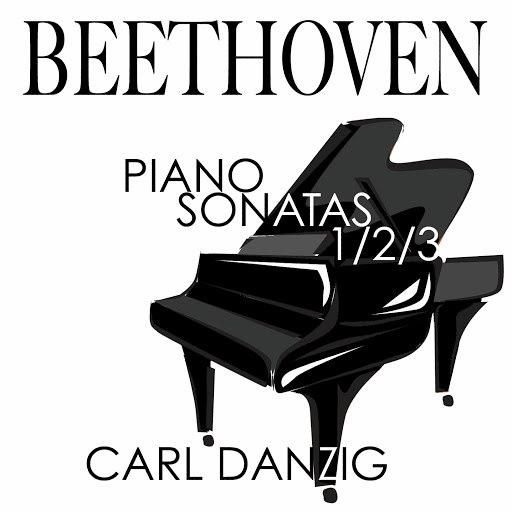Ludwig Van Beethoven альбом Beethoven: Piano Sonatas Nos 1, 2 & 3